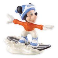 Lenox® Disney Mickey's Snowboarding Adventure Figurine