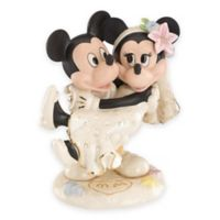 Lenox® Disney Porcelain Mickey and Minnie Dream Beach Wedding Figurine