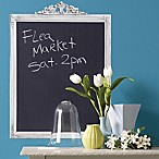 Framed Peel and Stick Chalkboard Wall Decal