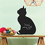 Kitten Chalkboard Peel and Stick Wall Decal