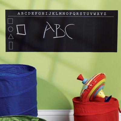 Wallies Peel And Stick ABCu0027s Chalkboard
