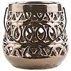 Style Statements by Surya Jett Small Ceramic Tealight Lantern in Brown