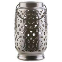 Style Statements by Surya Kimba Large Ceramic Tealight Lantern in Black