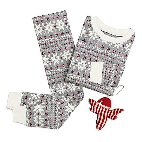Burt's Bees Baby® Fair Isle™ Snowflake 2-Piece PJs and Ornament ...