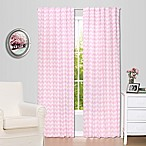The Peanut Shell® Chevron Window Panel Pair in Pink