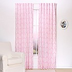 The Peanut Shell® Damask Blackout Panel Pair in Pink