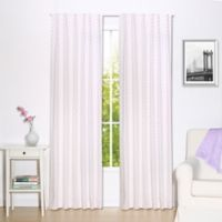 The Peanut Shell® Triangles Window Panel Pair in Purple