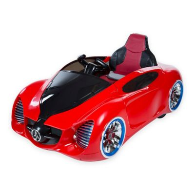 Lil Rider Pre-Assembled Battery-Operated Sports Car in Red