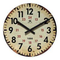 Infinity Instruments Vintage Wall Clock