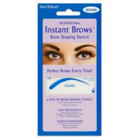 Fran Wilson® Professional Instant Brows® Brow Shaping Stencil in Round