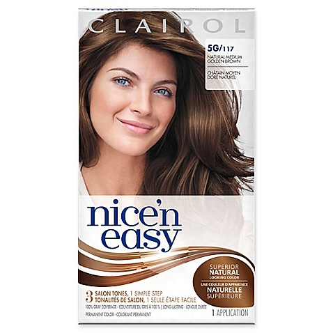 Clairol® Nice 'n Easy Permanent Hair Color 5G/117 Natural ...
