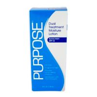 Purpose® 4 fl. oz. Fragrance Free Dual Treatment Moisture Lotion with SPF 15