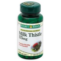Nature's Bounty 100-Count Milk Thistle 250 mg Capsules