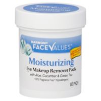 Harmon Face Values 80-Count Moisturizing Eye Makeup Remover Pads