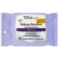 Harmon® Face Values® Makeup Remover Night Towelettes 25 Count