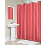 Vinyl 70-Inch x 71-Inch Shower Curtain Liner in Coral