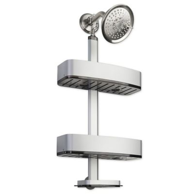 InterDesign® Rustproof Aluminum Adjustable Shower Caddy