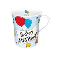 "Konitz ""Happy Birthday"" Mugs (Set of 4)"