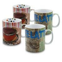 Konitz Fresh Brew Mugs (Set of 4)