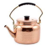 Old Dutch International® 2-Quart Hammered Copper Tea Kettle