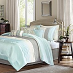 Madison Park Amherst 7-Piece Queen Comforter Set in Aqua