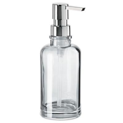 OGGI® Round Glass 12 oz. Soap Dispenser in Clear