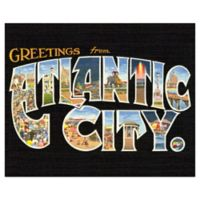 Atlantic City Glass Cutting Board