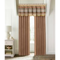 J. Queen New York™ Montaneros Straight Window Valance in Rust