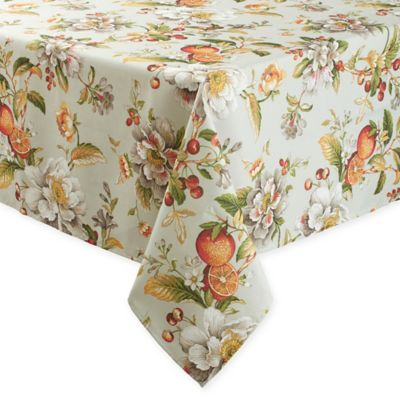 Basics Citrus Floral 60 Inch X 84 Inch Oblong Tablecloth