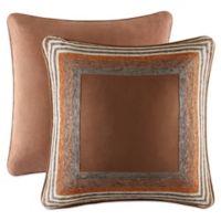 J. Queen New York™ Montaneros Euro Sham Comforter Set in Rust