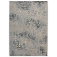 Nourison Somerset ST74 2-Foot x 2-Foot 9-Inch Accent Rug in Silver and Blue