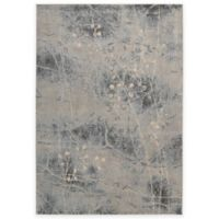 Nourison Somerset ST74 5-Foot 3-Inch x 7-Foot 5-Inch Area Rug in Silver and Blue