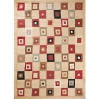 Concord Global Soho Village 6-Foot 7-inch x 9-Foot 6-Inch Area Rug