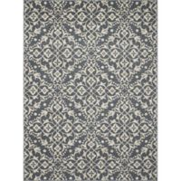 New Casa Medallions 3-Foot 3-Inch x 4-Foot 7-Inch Accent Rug in Blue