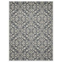New Casa Medallions 5-Foot 3-Inch x 7-Foot 3-Inch Area Rug in Blue