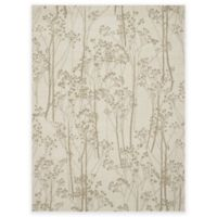 Concord Global Casa Trees 5-Foot 3-Inch x 7-Foot 3-Inch Indoor Area Rug in Ivory