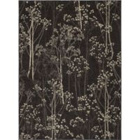 Concord Global Casa Trees 6-Foot 7-Inch x 9-Foot 6-Inch Indoor Area Rug in Brown