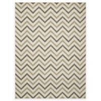 New Casa Chevron 5-Foot 3-Inch x 7-Foot 3-Inch Area Rug in Ivory