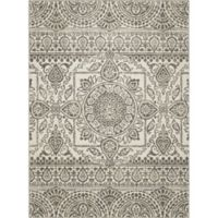 New Casa Aubosson 2-Foot 7-Inch x 4-Foot 1-Inch Accent Rug in Grey