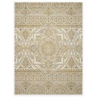 New Casa Aubosson 5-Foot 3-Inch x 7-Foot 3-Inch Area Rug in Yellow