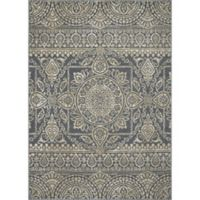 New Casa Aubosson 6-Foot 7-Inch x 9-Foot 6-Inch Area Rug in Blue