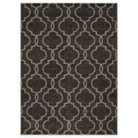 New Casa Quatrefoil 5-Foot 3-Inch x 7-Foot 3-Inch Area Rug in Brown