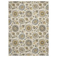 New Casa Suzani 3-Foot x 4-Foot Area Rug in Ivory
