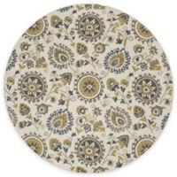 New Casa Suzani 7-Foot x 10-Inch Area Rug in Ivory