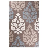 Concord Global Casa Collection Victoria 5-Foot 3-Inch x 7-Foot 3-Inch Rug in Brown