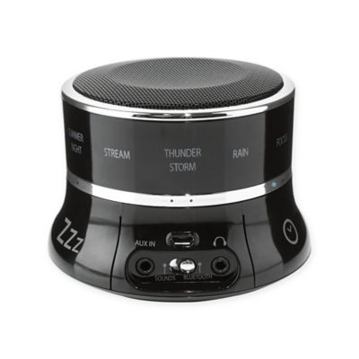 Buy homedics deep sleep sound machine from bed bath beyond for Bathroom noise maker