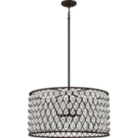 Quoizel Alexandria 6-Light Pendant in Palladian Bronze