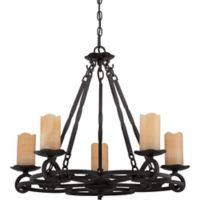 Armelle 5-Light Chandelier in Imperial Bronze