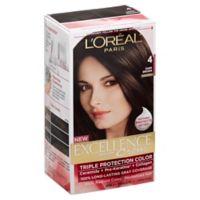 L'Oreal® Paris Excellence® Crème Triple Protection Hair Color in 4 Dark Brown