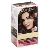L'Oreal® Paris Excellence® Crème Triple Protection Hair Color in 5G Medium Golden Brown